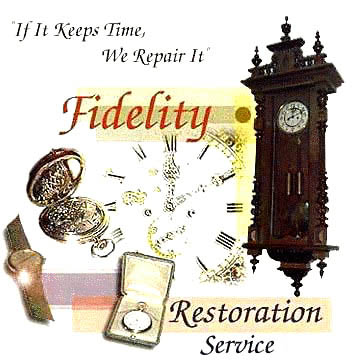 clock watch repair antiquie watch clock sales restoration, rolex, patek atmos-Lecoultre, grandfather clocks, westbury, omega, henry nolan in NH at Fidelity Restoration Services - Bedford, New Hampshire